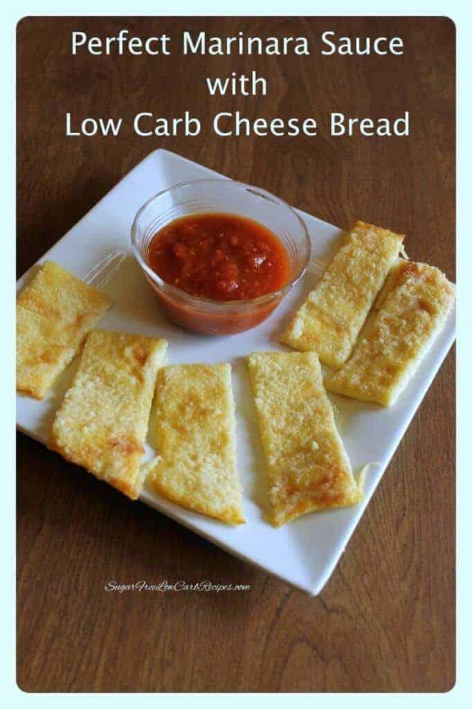 Easy low carb marinara sauce recipe