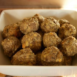Gluten Free Meatballs – Low Carb and Grain Free