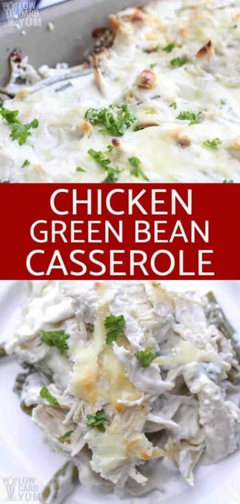 Text Chicken Green Bean Casserole