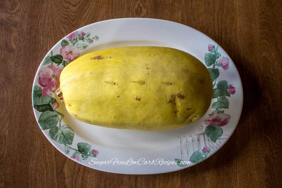 cooked low carb crockpot spaghetti squash