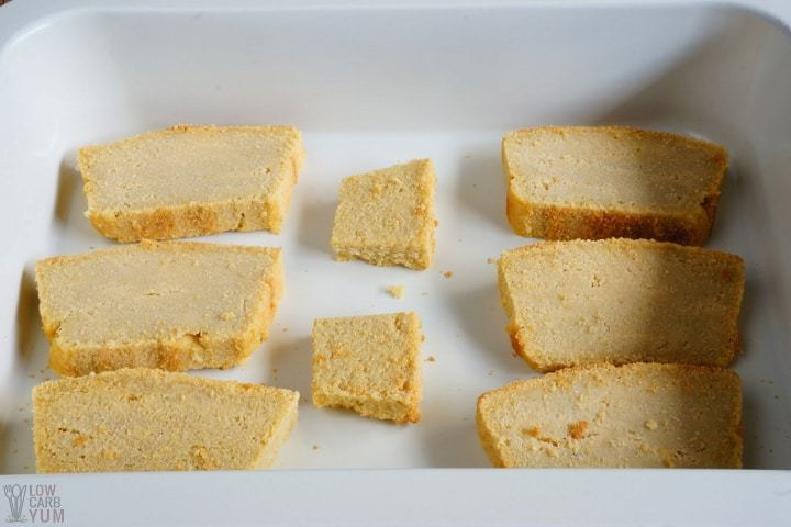 Sliced bread base layer