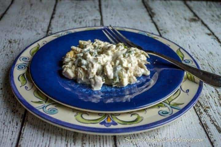 Low carb chicken green bean casserole recipe featured image