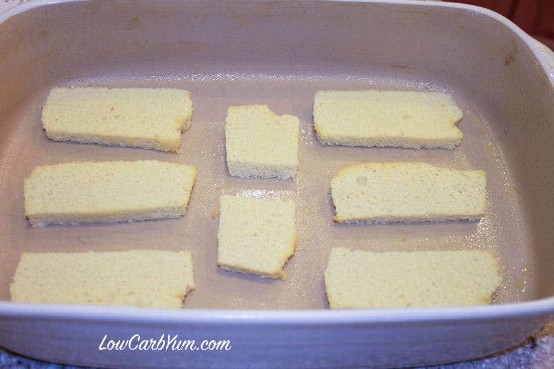 low-carb gluten-free ham cheese strata