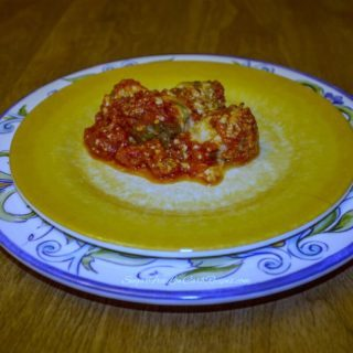 Meatball Parmesan Casserole – Gluten Free