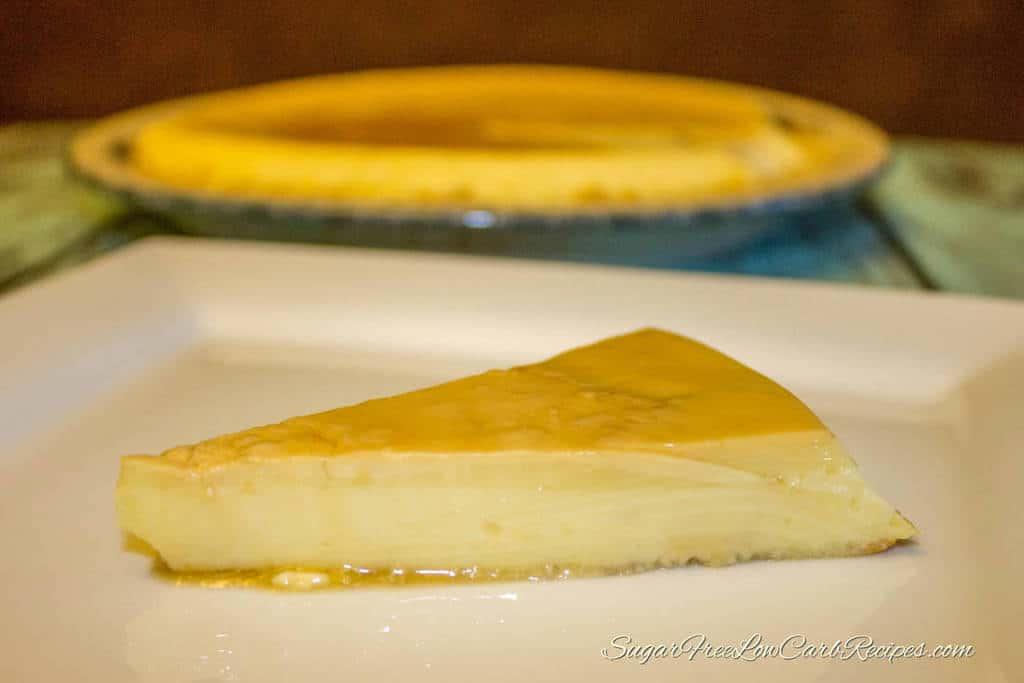 Creamy Low Carb Flan - No Sugar Added Custard