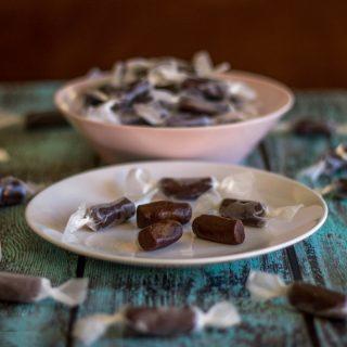 Healthy Homemade Tootsie Rolls – VitaFiber and Stevia