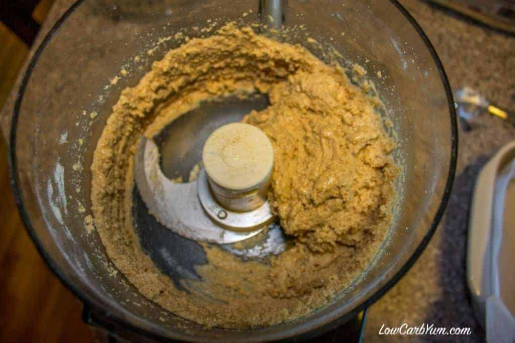 cashew butter mix in food processor