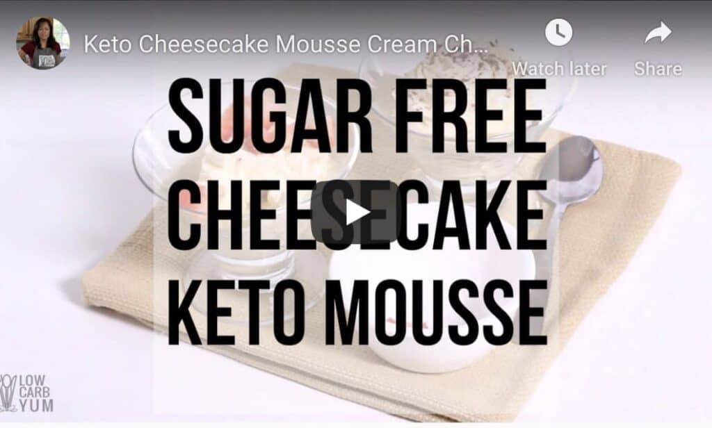 keto fluff youtube video