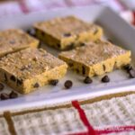 chocolate chip coconut sunflower seed cashew butter protein bars