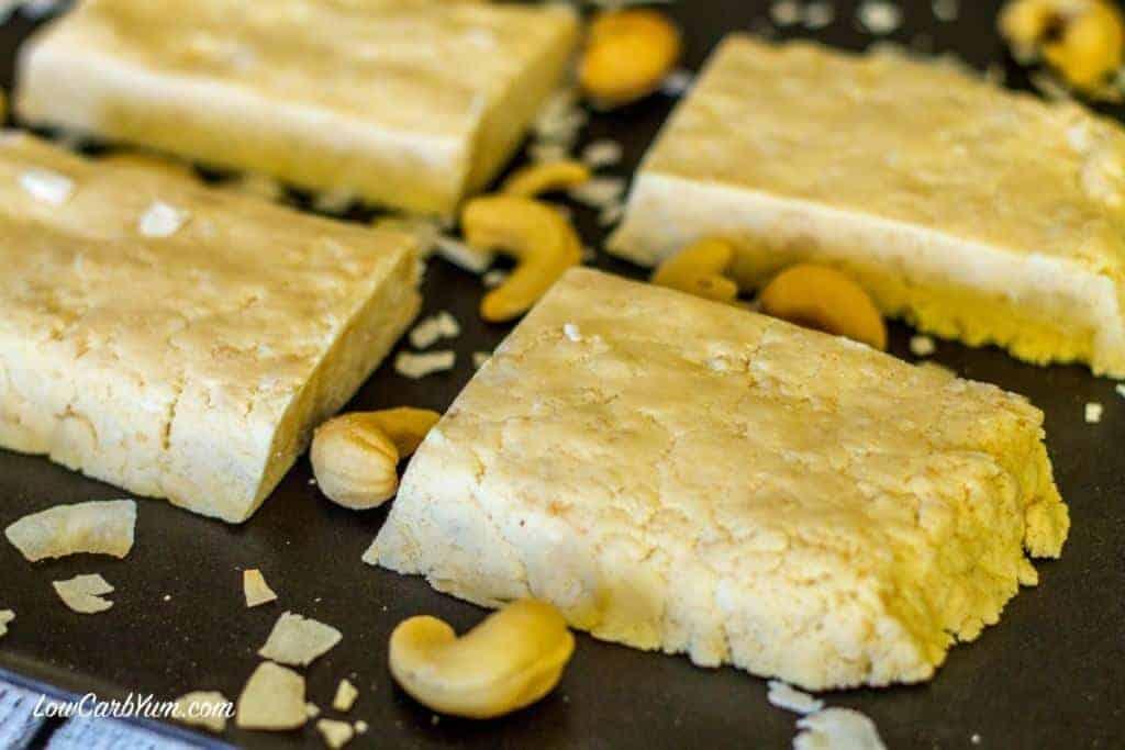 coconut cashew quest protein bar recipe