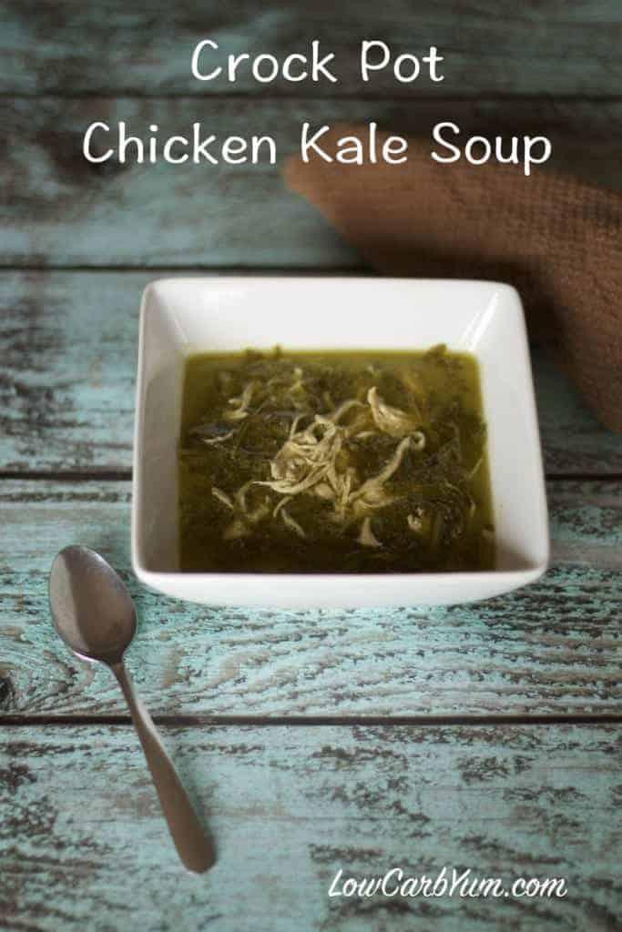 crockpot chicken kale soup recipe