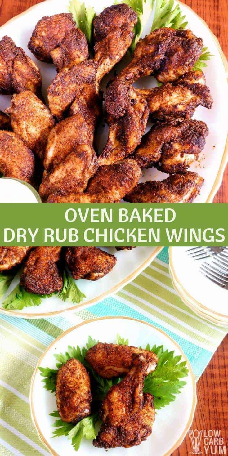 Tired of wings drenched it hot sauce? This recipe for spicy dry rub chicken wings uses a seasoned blend of ground dried peppers instead.