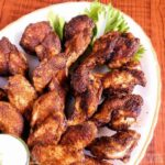Dry rub chicken wings