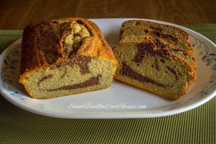 Low carb gluten free cinnamon bread