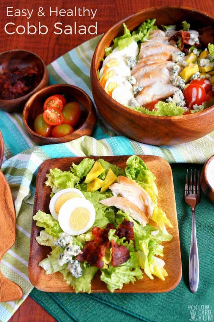 Best healthy cobb salad recipe with chicken