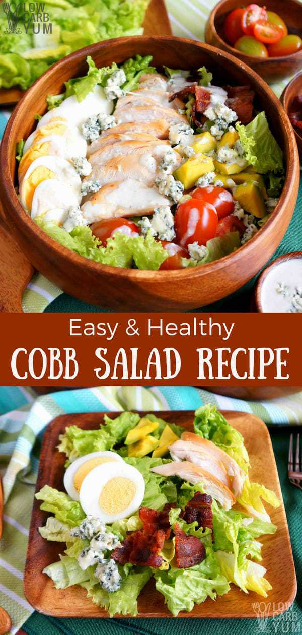 Cabbage Soup Diet Recipe: Healthy Cobb Salad Recipe With Chicken (Keto, Low Carb