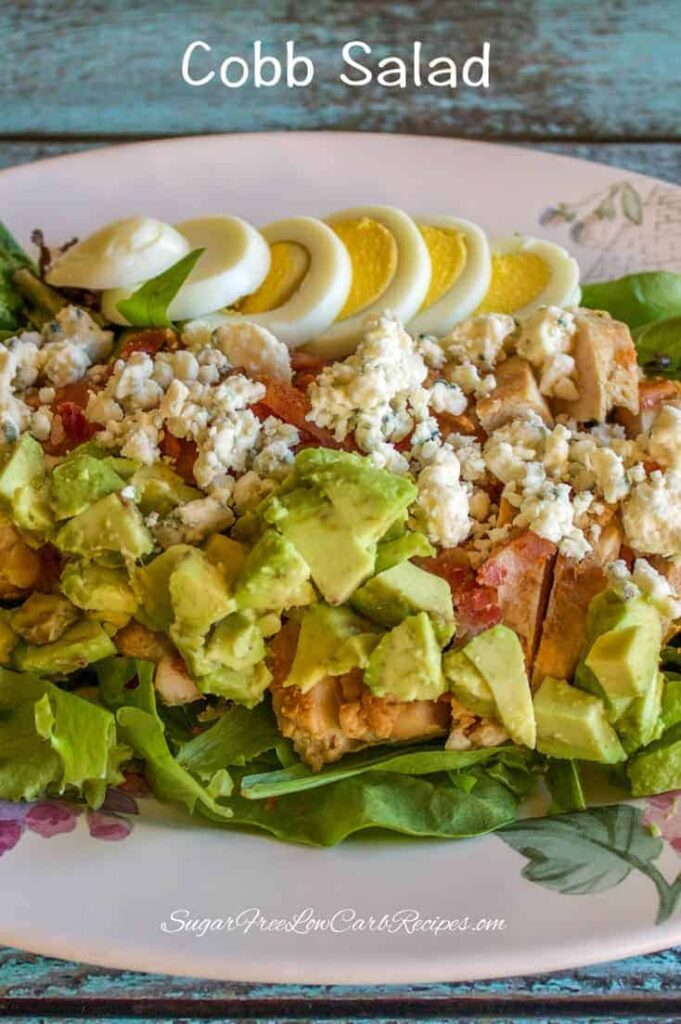 low carb cobb salad recipe for one