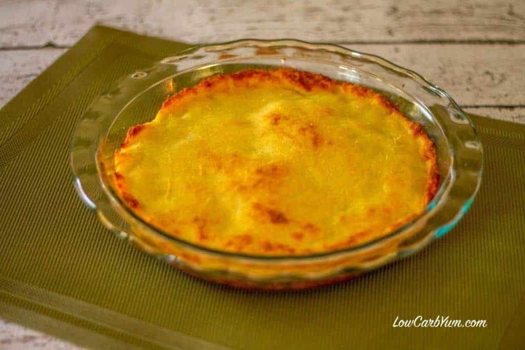 low carb sloppy joe pie