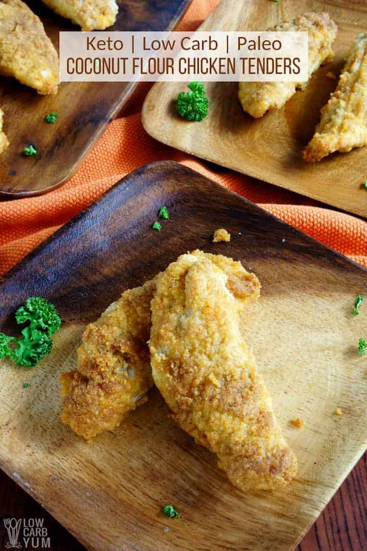 Paleo Coconut Flour Chicken Tenders Low Carb Keto Low Carb Yum
