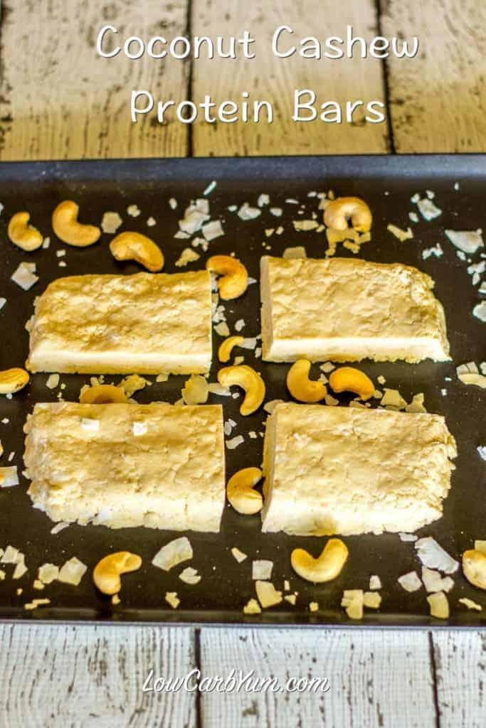 recipe coconut cashew quest protein bars