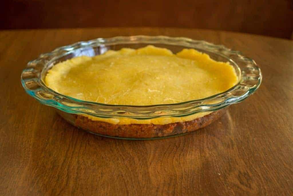 sloppy joe casserole low carb pie crust