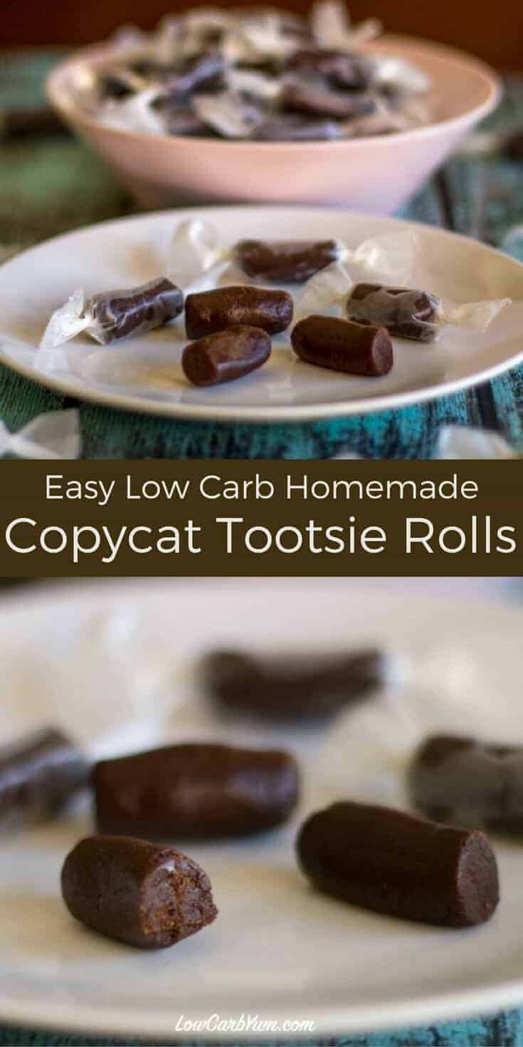 This easy to make VitaFiber tootsie roll recipe uses stevia and an all natural high fiber sweetener. You won't believe there's no sugar added.