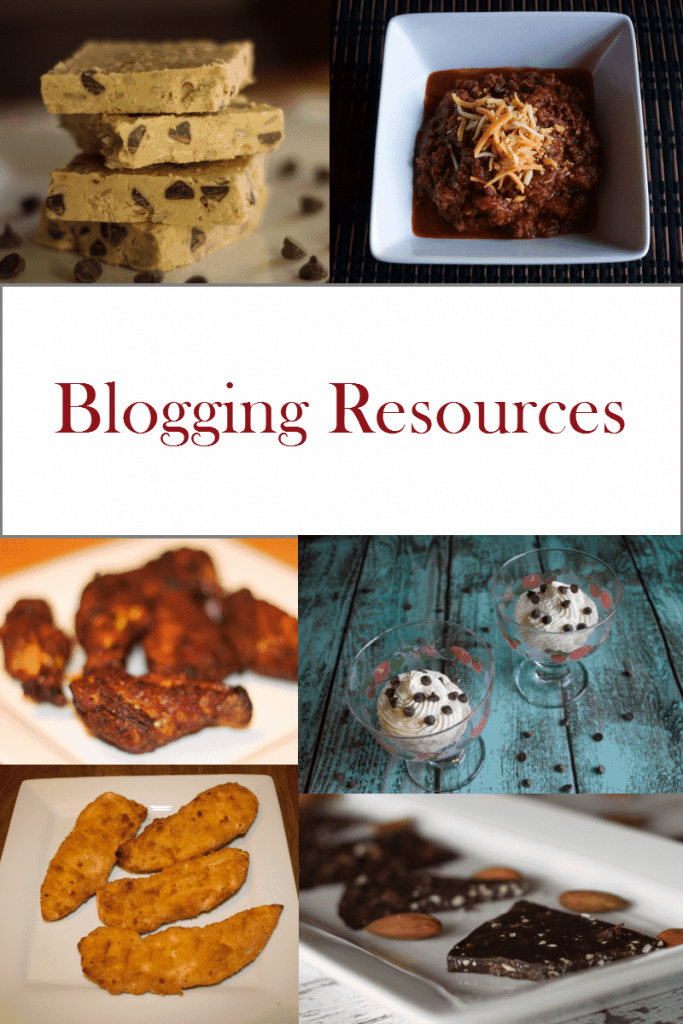 Blogging Resources for Food Bloggers