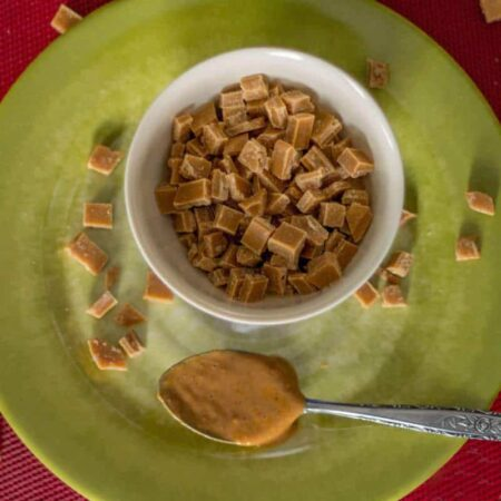 Homemade Sugar Free Peanut Butter Chips