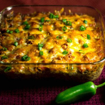 Southwest Beef and Bean Casserole