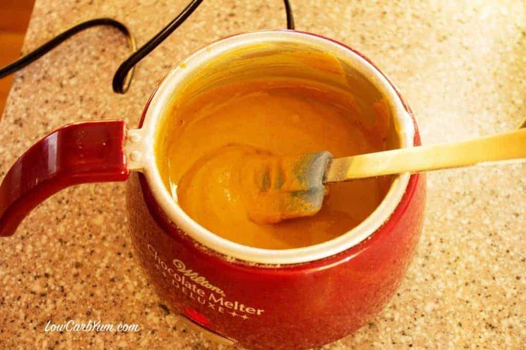 Sugar Free Peanut Butter Chips Melter