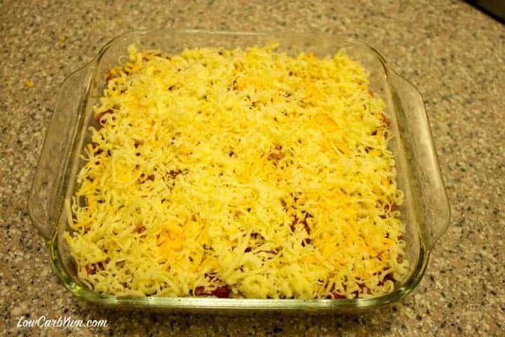 cheese topping