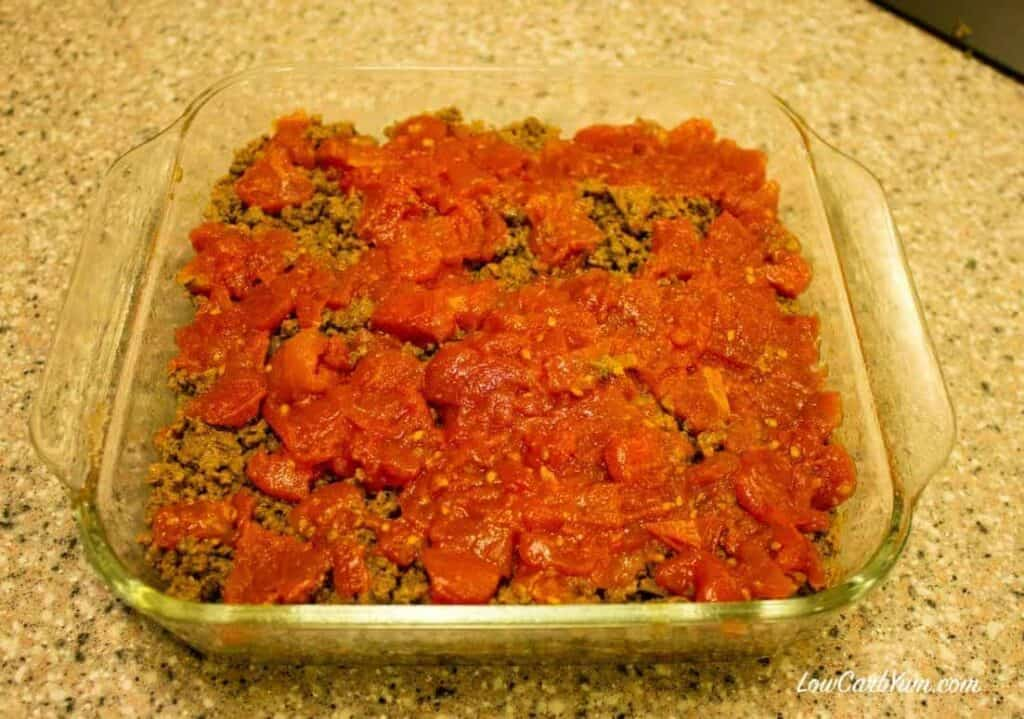 Here's a black soy beans recipe that lowers the carbs for a typical Southwest beef and bean casserole. This low carb high fat meal is loaded with flavor.