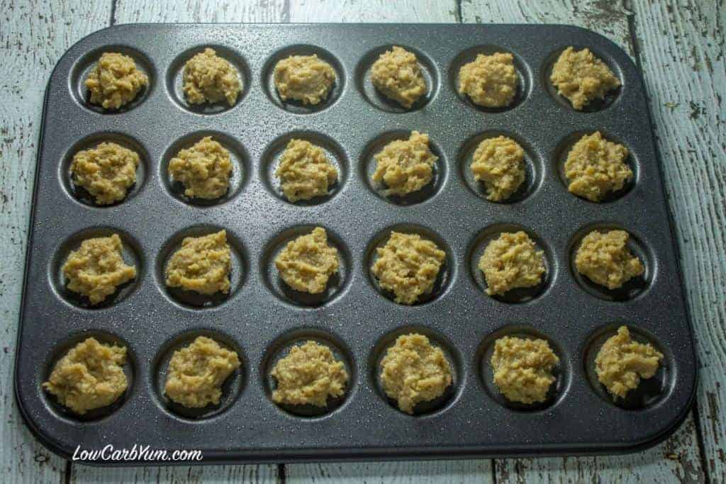 gluten free low carb whoopie pie batter pan