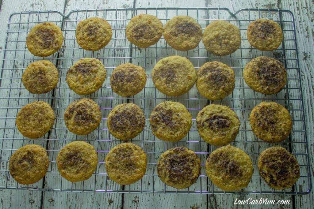 gluten free low carb whoopie pie cakes rack