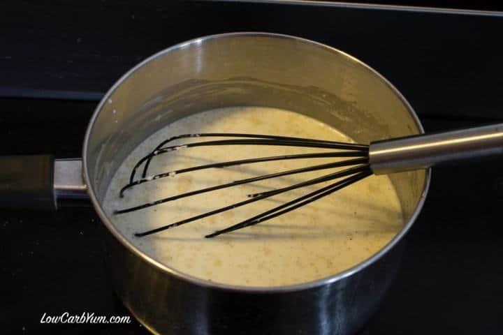 Homemade sugar free vanilla ice cream recipe