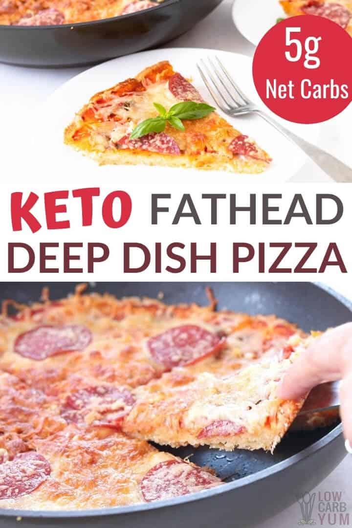 keto fathead pan pizza recipe
