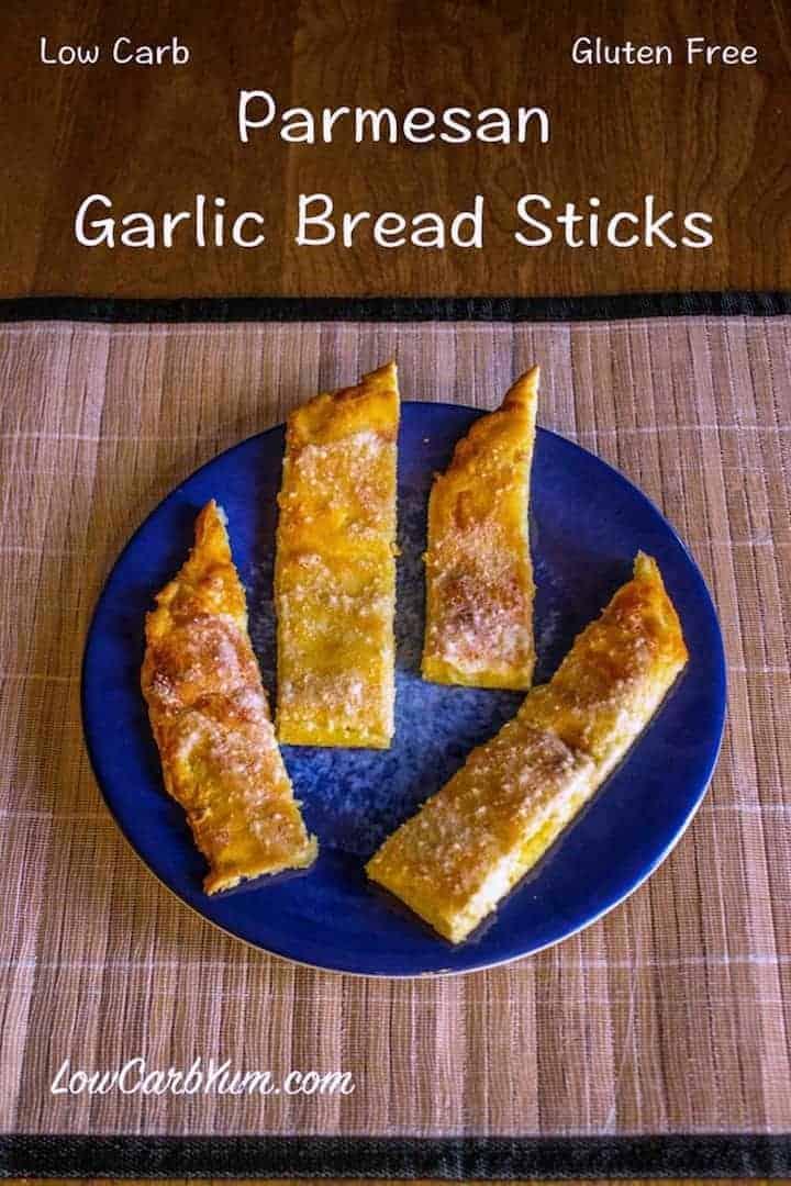 Easy Low carb breadsticks Crazy Bread Recipe