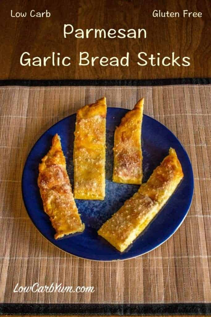 low carb garlic bread sticks recipe