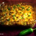 low carb keto southwest black bean casserole recipe