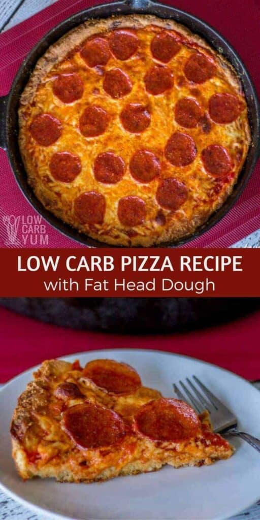 Easy low carb pizza recipe with Fat Head dough
