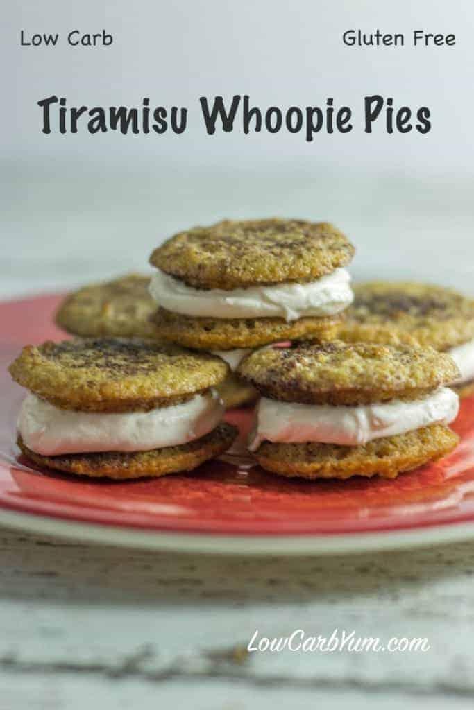 low carb tiramisu whoopie pies recipes