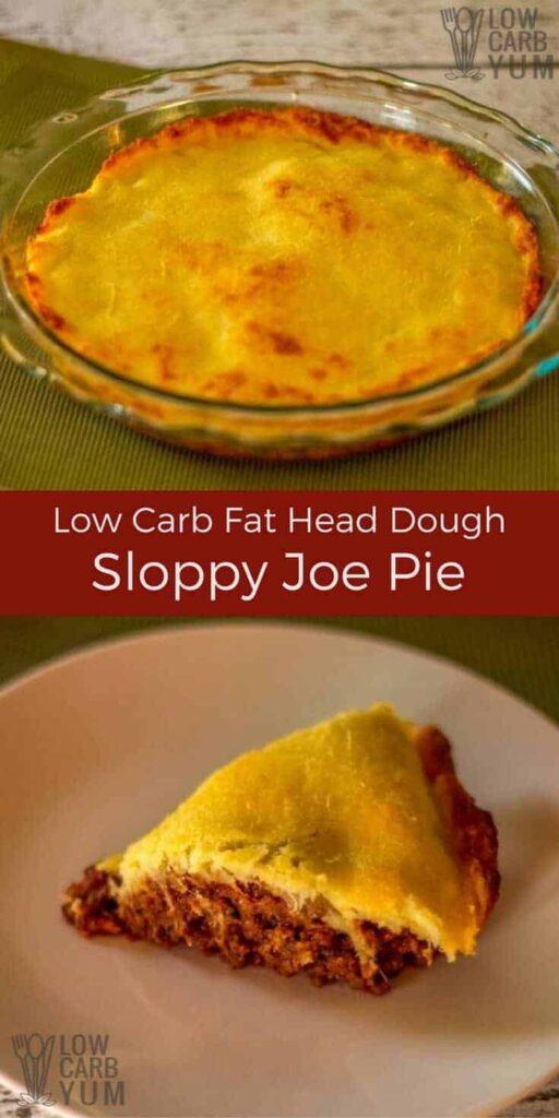 Sloppy joe pie casserole recipe
