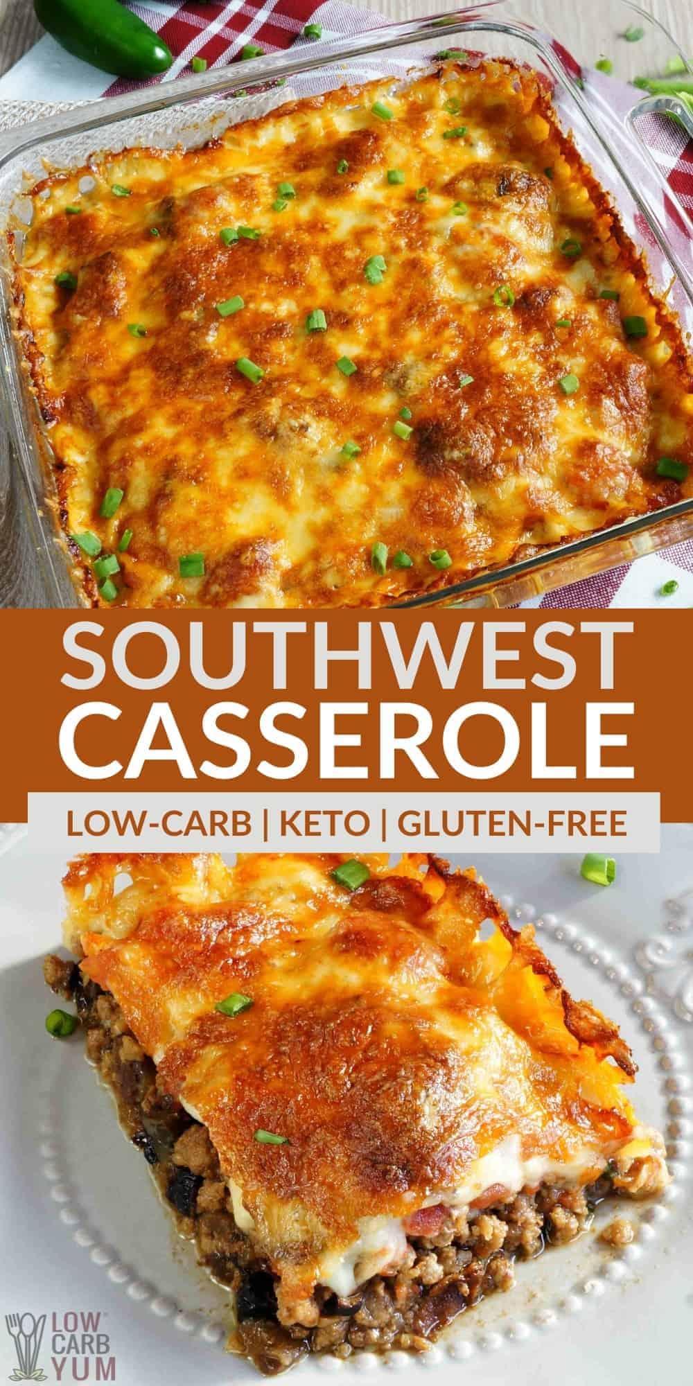 southwest casserole pinterest image