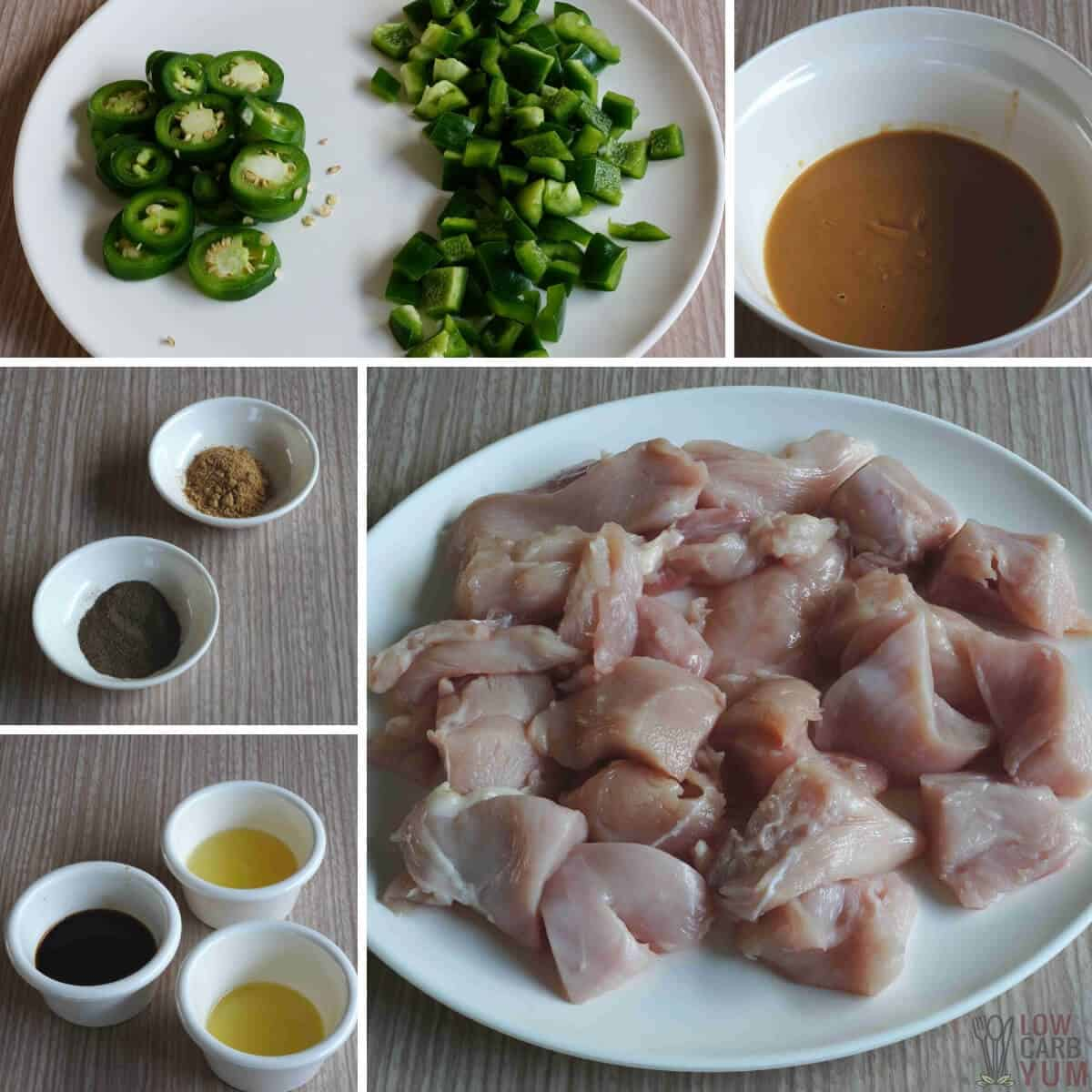 spicy crockpot chicken ingredients