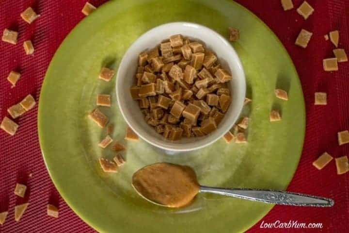 Easy low carb sugar free peanut butter chips