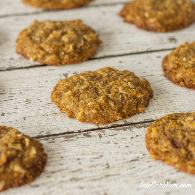 Brown Butter Coconut Cookies – Gluten Free