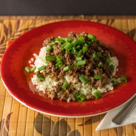 Korean Beef - Paleo and Low Carb