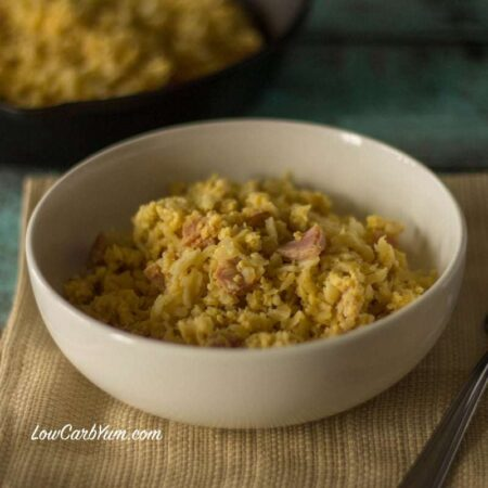 Sinangag - Garlic Cauliflower Fried Rice