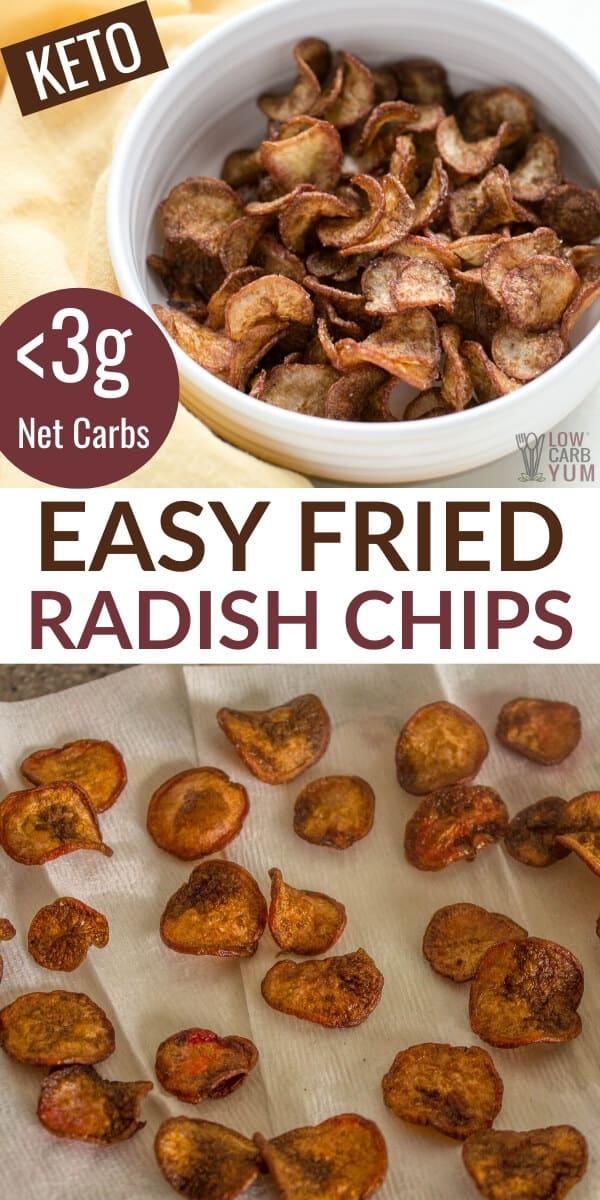 easy fried radish chips recipe
