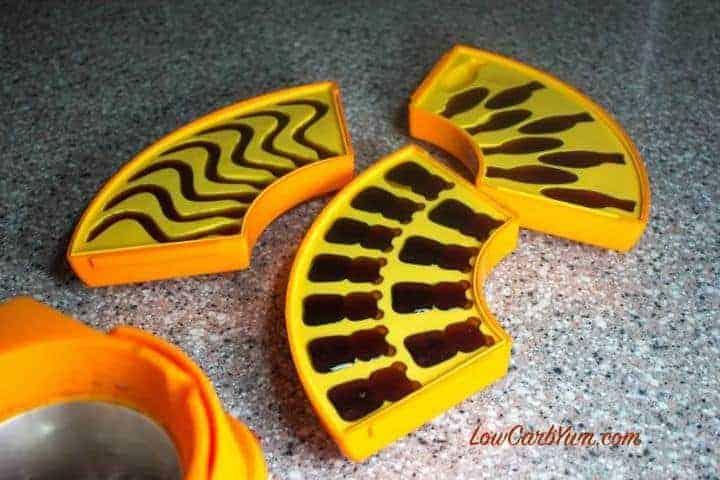 homemade sugar free gummy bears molds